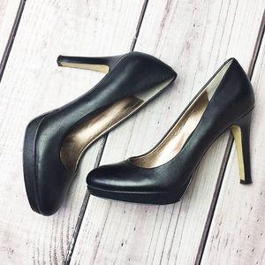 Banana Republic Black Platform Heels